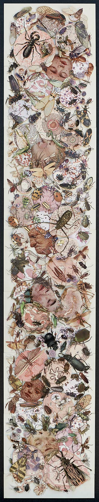 """Entry Wounds ( 54"""" x 10"""")"""