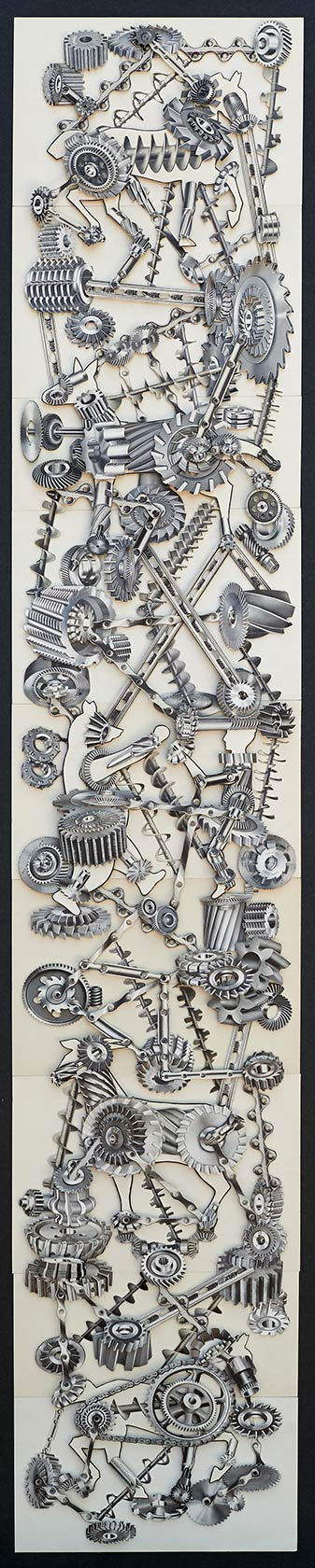 "Toy Machine ( 54"" x 10"")"