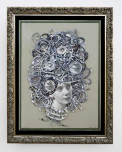 Portrait of Kay III - Framed